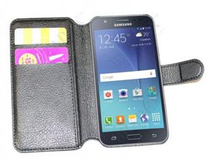 Чехол-книжка универсальный для телефона, черный 14х6,7 см Bradex SU 0016Полезные вещи для дома<br><br>