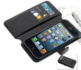 Чехол-книжка универсальный для телефона, черный 15,7х8 см Bradex SU 0015Полезные вещи для дома<br><br>