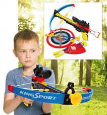 Арбалет детский со стрелами Точный выстрел Bradex DE 0133игрушки<br><br>