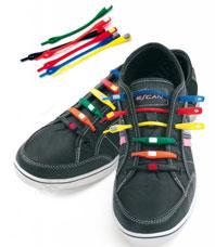 Шнурки силиконовые цветные Bradex TD 0364Товары для дома<br><br>