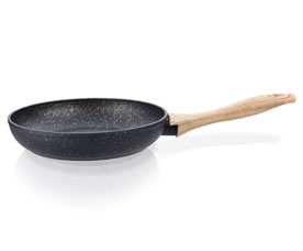 Сковорода для жарки Black  Cosmic 20 x 4,5 см Fissman 4340Сковороды<br><br>