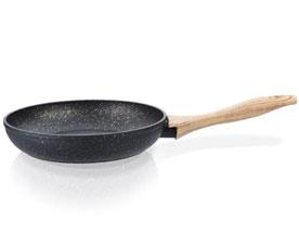 Сковорода для жарки Black  Cosmic 24 x 4,9 см Fissman 4341Сковороды<br><br>
