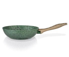 Cковорода - вок Malachite 28 х 8 см Fissman 4315Сковороды<br><br>