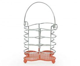 Подставка для кухонных инструментов 12 х 11 см Fissman 7081Кухонные аксессуары<br><br>
