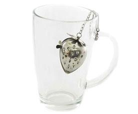 Ситечко для заваривания чая Клубника Fissman 7434Чайники и термосы<br><br>