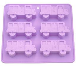 Форма для выпечки 6 кексов Автобус 22 x 20 x 2,8 см Fissman 6652Выпечка<br><br>