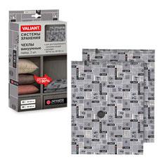 Набор чехлов с клапаном для вакуумного хранения, 2 шт, 80x60см, Japanesee Black Valiant JB-VS-86Товары для гардероба<br><br>