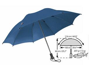 Зонт Euroschirm Swing Liteflex синий арт. W2L69060Зонты<br><br>
