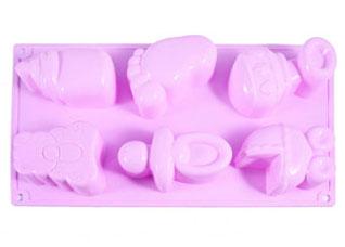 Форма для выпечки 6 кексов С Новорожденным 29.5 х 17.5 х 4 см Fissman 6543Выпечка<br><br>