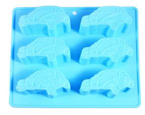 Форма для выпечки 6 кексов Машины 22 х 20 х 2.5 см Fissman 6544Выпечка<br><br>