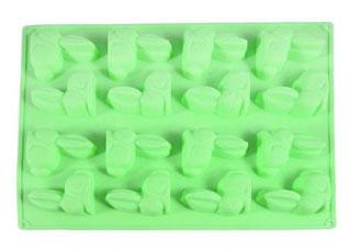 Форма для льда и шоколада Зайцы 29 х 22.5 х 1.7 см Fissman 6556Выпечка<br><br>