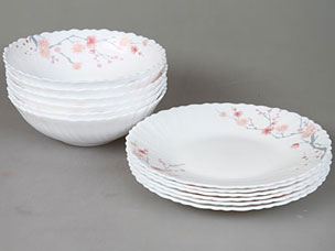 Набор столовой посуды 12пр Rosenberg 1250-1Сервировка стола<br><br>