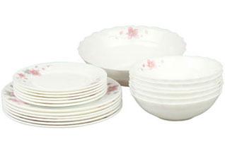 Набор столовой посуды 19пр Rosenberg 1260-3Сервировка стола<br><br>