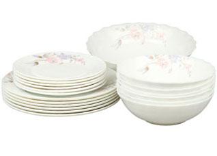 Набор столовой посуды 19пр Rosenberg 1260-4Сервировка стола<br><br>