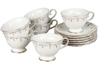 Чайный набор 12 пр Rosenberg 8699Сервировка стола<br><br>