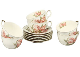 Чайный набор 12 пр (250мл) Rosenberg 8728Сервировка стола<br><br>