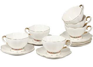 Чайный набор 6 пр Rosenberg RCE-115001-6Сервировка стола<br><br>
