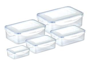 Контейнер Freshbox 5 шт., прямоугольный, Tescoma 892094Хранение продуктов<br><br>