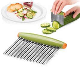 Приспособление для волнистой нарезки овощей PRESTO CARVING Tescoma 422078Обработка продуктов<br><br>