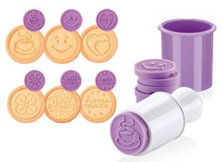 Печать для печенья DELICIA, 6 веселых мотивов Tescoma 630111Выпечка<br><br>