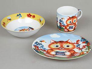 Набор детской посуды Rosenberg 8763Сервировка стола<br><br>
