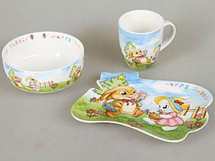 Набор детской посуды Rosenberg 8772Сервировка стола<br><br>