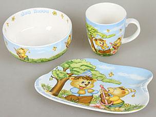 Набор детской посуды Rosenberg 8774Сервировка стола<br><br>