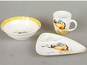Набор детской посуды Rosenberg 8777Сервировка стола<br><br>