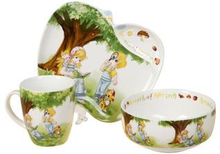 Набор детской посуды Rosenberg 8782Сервировка стола<br><br>