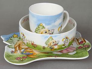 Набор детской посуды Rosenberg 8786Сервировка стола<br><br>