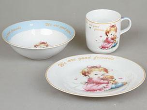 Набор детской посуды Rosenberg 8794Сервировка стола<br><br>