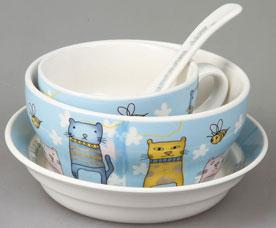 Набор детской посуды Rosenberg 87961 4 прСервировка стола<br><br>