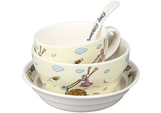 Набор детской посуды Rosenberg 87962 4 прСервировка стола<br><br>