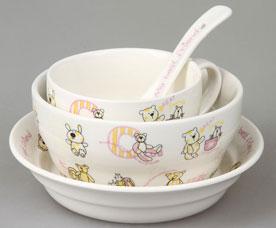 Набор детской посуды Rosenberg 87964 4 прСервировка стола<br><br>