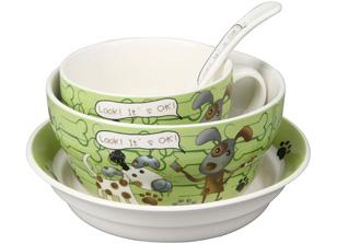 Набор детской посуды Rosenberg 87965 4 прСервировка стола<br><br>