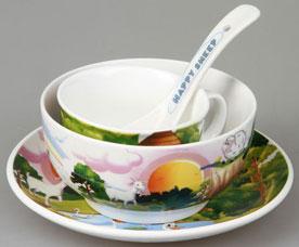 Набор детской посуды Rosenberg 87967 4 прСервировка стола<br><br>