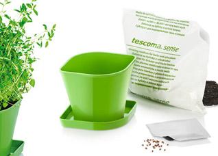 Набор для выращивания пряных растений Sense, тимьян, Tescoma 899072Организация и уборка кухни<br><br>