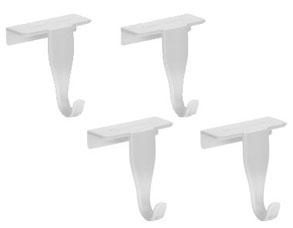 Крючки на дверцы кухонных шкафов Presto, 4 шт. Tescoma 420832Организация и уборка кухни<br><br>