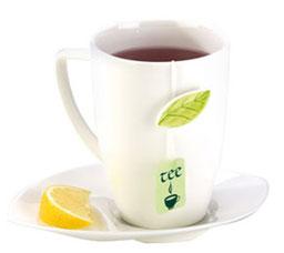 Чайная кружка с блюдцем Yasmin Tescoma 387590Напитки<br><br>