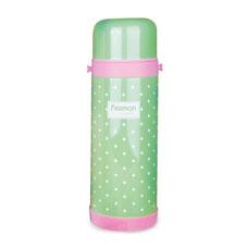 Детский термос 1000 мл зеленый Fissman 9661Чайники и термосы<br><br>