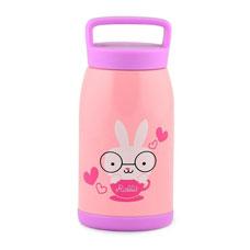 Детский термос 260 мл розовый Fissman 9662Чайники и термосы<br><br>
