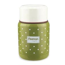 Детский термос для пищи зеленый 350 мл Fissman 9667Чайники и термосы<br><br>