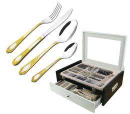 Набор столовых приборов в чемодане Bekker BK-6528 72 прСтоловые приборы<br><br>