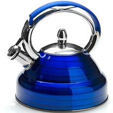 Чайник синий Mayer&amp;Boch MB-23205-4, 2.7л, свистокЧайники<br><br>