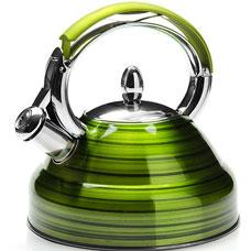 Чайник зелёный Mayer&amp;Boch MB-23205-3, 2.7л, свистокЧайники<br><br>