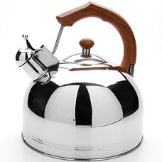 Чайник коричневый Mayer&amp;Boch MB-23585, 4.8л, свистокЧайники<br><br>