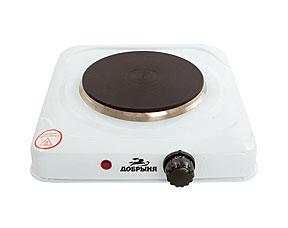 Плитка электрическая Добрыня DO-2201 (1000 Вт)Электроплитки<br><br>