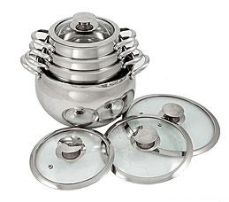 Набор посуды Добрыня DO-1706 (2.1/2.9/3.9/6.5)Посуда<br><br>