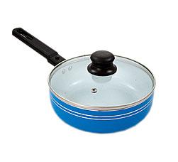 Сковорода с крышкой Добрыня DO-5009 (20/6,5см)Сковороды антипригарные<br><br>