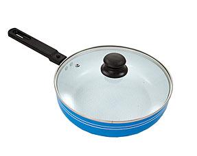Сковорода с крышкой Добрыня DO-5011 (24/7см)Сковороды антипригарные<br><br>